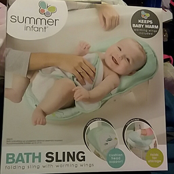 Summer Infant Other | Brand New With Tags Never Use Baby Bath Sling ...